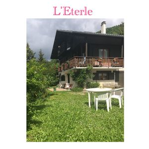 Photo for The Eterle Bauges: apartment in the mountains, snow, skiing, hiking, relaxation ...