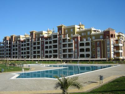Photo for Isla Canela - Two Bedroom Beachfront Family Apartment With Sea Views