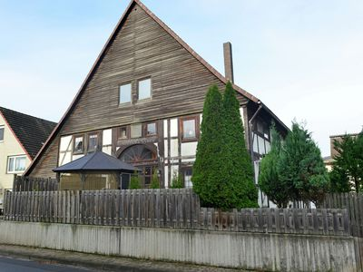 Photo for Wonderful holiday home in the Weser Uplands in a lovely half-timbered home with PREMIUM CARD