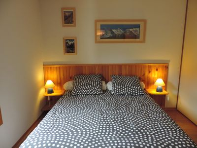 Photo for in BOURG ST MAURICE duplex apartment, near downtown, private garage,