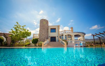 Photo for Magnificent Luxury Villa with Private Pool and Superb Sea And Mountain Views