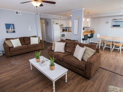 Photo for Cute Bayfront w/ Pool - Short Walk to Beach & Convention Center!