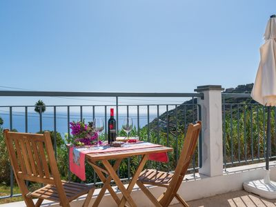 Photo for Casa Bianca, Magnificent views of the sea and mountains