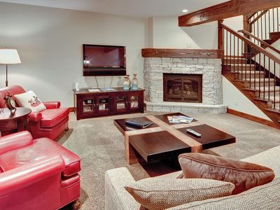 Photo for Luxury townhome with king suites -- concierge, winter shuttle, on-site chairlift, heated pool