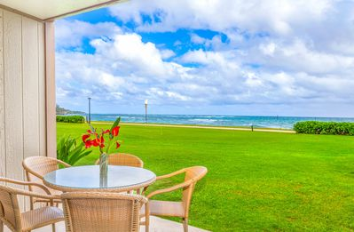 Photo for PONO KAI B109, OCEANFRONT, EASY WALK TO TOWN, BEACH & BIKE PATH, SUNRISE VIEW