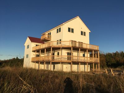 Photo for LAKE BLUFF PRESERVE BIRCH COTTAGE SLEEPS 22 WITH LAKE MICHIGAN VIEW