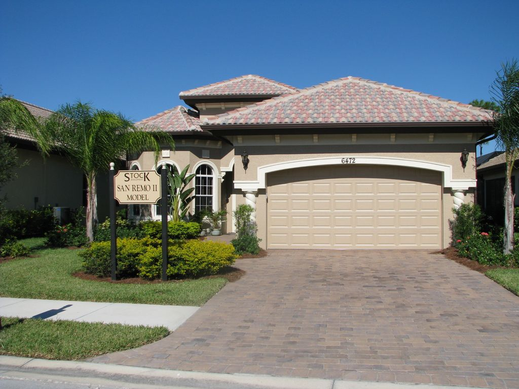 Lely Resort New Homes For Sale