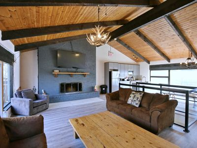 Photo for Walking Distance to The Blue Mountain Village! Renovated Chalet in a Serene Forest 718263