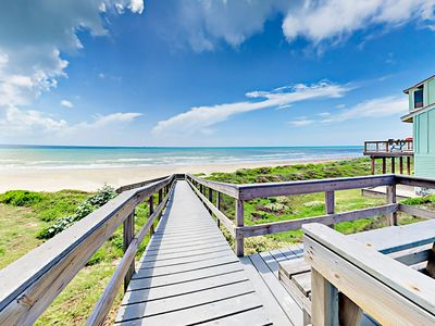Beach Access - Take the convenient boardwalk that leads to the beach from Lost Colony.