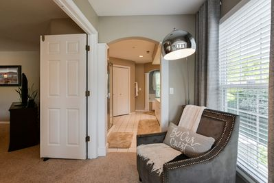 Master Suite with sitting are and Master bath