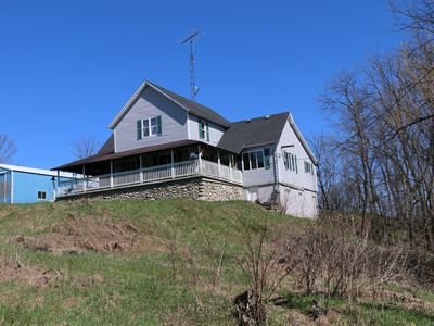 Photo for Farmhouse w/stunning views & wrap-around porch! Minutes from lake/wineries&more!