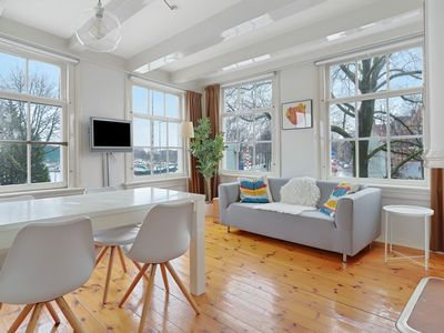 Photo for Beautiful two bedroom apartment, for up to four guests, boasting plenty of character and a central l