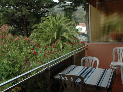 Photo for apartment with terrace at 600 m from the beach.