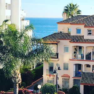 Photo for 2 person apartment in Estepona with sea view and everything within walking distance