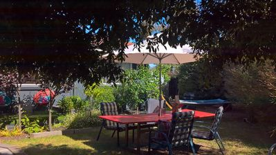 Your own private apartment with lush outdoor garden, bbq area and patio