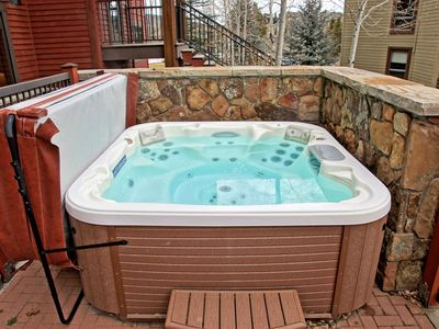 Photo for Great Location with Private Shuttle Service, Private Hot Tub and Patio (202871-11172)