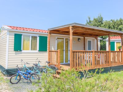 Photo for MOBILE HOME 4/5 PEOPLE: private beach, swimming pool and entertainment included