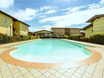 Photo for Luxurious Holiday Home in Manerba del Garda with Pool