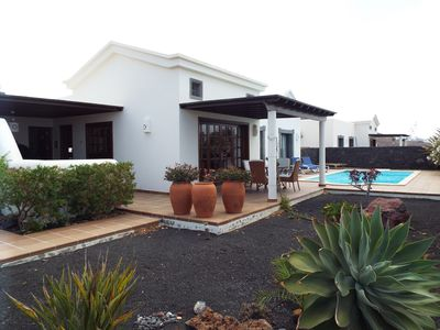 Photo for Family Villa With Private Heated Pool, Free Wifi with bbc ,itv channels