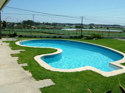 Photo for Luxurious Villa V6 pool, beautiful garden, soccer field. Quiet place, beautiful view