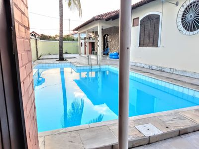 Photo for Beautiful and cozy house Piratininga Large pool and barbecue