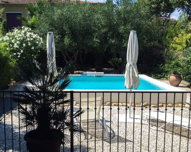 Photo for Luxury villa with pool in the heart of Marseillan