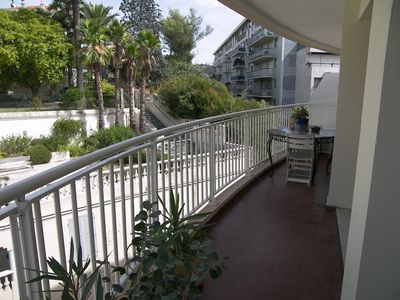 Photo for Studio apartment in the center of Cannes with Internet, Air conditioning, Lift, Terrace (528181)