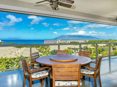 Photo for New Listing! Incredible Ocean Views in the heart of Wailea! Hoolei 23-3