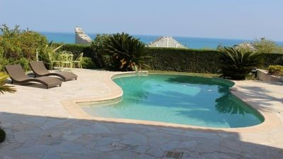 Photo for Villa with stunning views and private pool in secured area