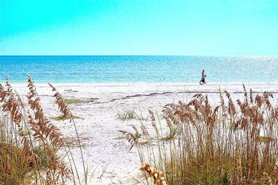 The renowned white sands of Fort Myers Beach - With its pristine sugary sands and quiet waters, Fort Myers Beach has long been considered one of the country's safest and best.