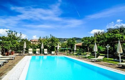 Photo for One bedroom Villa, sleeps 4 in Sorrento with Pool, Air Con and WiFi