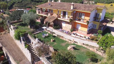 Photo for Casa Bellavista, with a large garden and a splendid panoramic view. Loceri