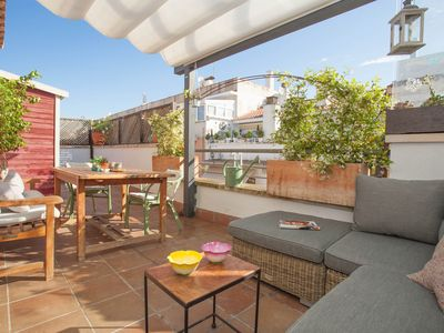 Photo for Luxury atic and cosy penthouse in Sitges with wifi
