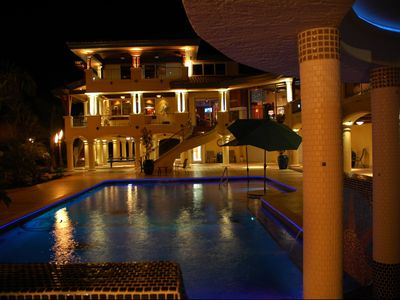 Photo for PRIVATE GATED ESTATE HOME ON 2 ACRES WITH WHITE SAND BEACH AND FULL TIME CHEF