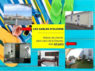 Photo for FREE 13/20 JULY, FISHING HOUSE ***, THE CHARM IN THE HEART OF LA CHAUME.