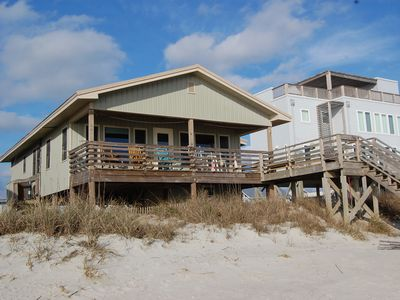 Photo for Oceanfront Family Beach Cottage
