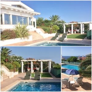 Photo for Beautiful, modern and spacious villa with swimming pool and wonderful sea views
