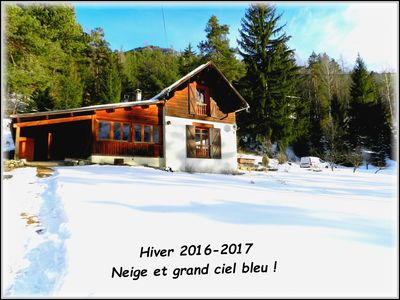 Photo for Authentic mountain chalet in Val d'Allos. Easy access.