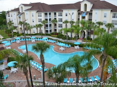 Photo for 2 BD CONDO~ CYPRESS POINTE RESORT by SeaWorld ~ JETTED TUB/WATERSLIDE/GREAT POOL