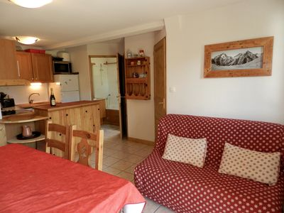 Photo for NEW apartment for 10 people, ski-in / ski-out, wide open spaces