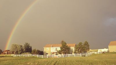 Photo for Beautiful Country Ranch apartment 5 min. to I-25  Multi bedroom sleeps up to 8