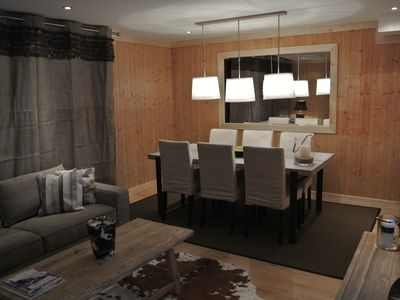 Photo for Luxury apartment in the center of Megève