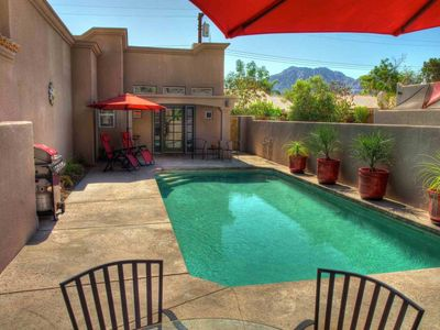 Photo for Casa at Montezuma in La Quinta Cove, Private Pool, next to Mountains and Hiking Trails
