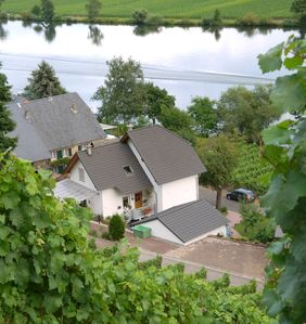 Photo for Apartment Moselblick located in Piesport / Ferres right on the banks of the Moselle