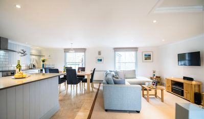 Photo for A two-bedroom apartment, with sunny rooftop terrace, lies at the heart of Fowey.