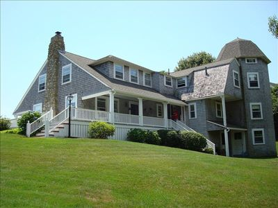 Photo for Historic Hyannis Port Village Home with Ocean Views
