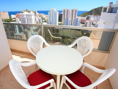Photo for Apartment in Benidorm with Internet, Pool, Air conditioning, Lift (106313)