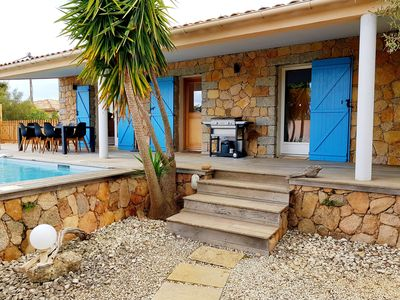 Photo for Villa Corse du Sud 2 minutes from St Cyprien and 10 minutes from Porto Vecchio