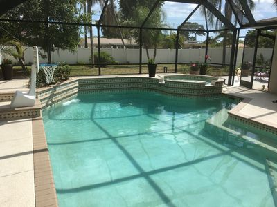 Venice Island Home w/ Heated Pool&Spa, Walk to Beach, Pet/Family Friendly