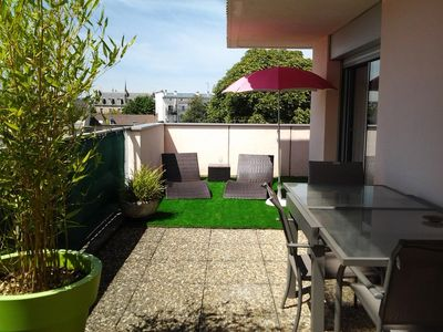 Photo for Grand T2 55m² + 34m² terrace in the city center with exceptional views